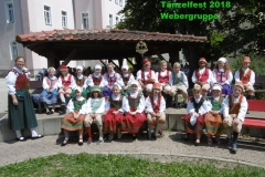 Tänzelfest 2018 - Webergruppe
